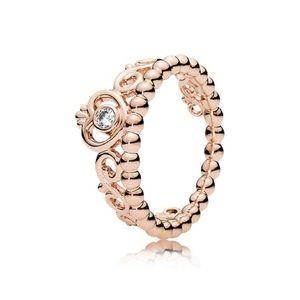 My Princess tiara ring, PANDORA rose